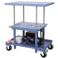 Vestil MT-2448-LP-DC Dc Powered Low Profile Post Table-1