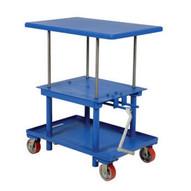 Vestil MT-3048-HP High Profile Mechanical Post Table-2