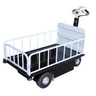 Vestil NE-CART-2 Traction Drive Cart - Top Load W Gate-1