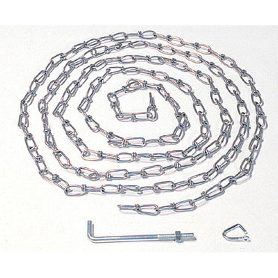 Vestil OH-15 Double Loop Coil Chain With Hanger-1