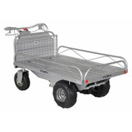 Vestil OROAD-400-T Off-road Tilting Traction Drive Cart-2