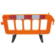 Vestil PBAR-72-O Plastic Barrier - Orange-1