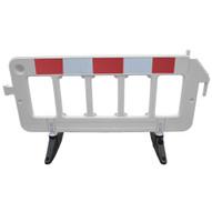 Vestil PBAR-72-W Plastic Barrier - White-1