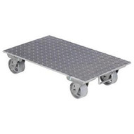 Vestil PDA-1627-C-S-H Aluminum Plate Dolly With Steel Wheels-1