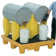 Vestil PDR-2 Polyethylene Drum Rack-1
