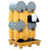 Vestil PDR-4 Polyethylene Drum Rack-1
