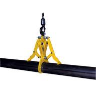 Vestil PG-C-100 Heavy Duty Pipe Grab - Cast Iron-1