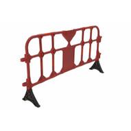Vestil PHR-R-L Red Plastic Handrailing Section 78-34in-1