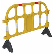 Vestil PHR-Y Yellow Plastic Handrailing Section 40in-3