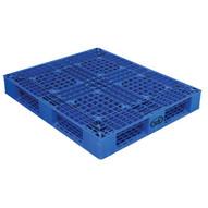 Vestil PLP2-4840-BLUE Blue Plastic Pallet-1