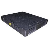 Vestil PLPB-4840 Black Plastic Pallet-1