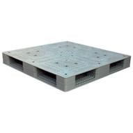 Vestil PLPG-4848 Grey Plastic Pallet-1
