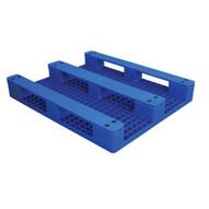 Vestil PLPS-H Solid Top Rackable Plastic Pallet skid-1