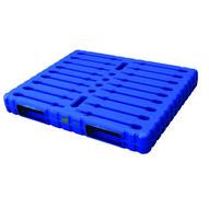 Vestil PLPS-WD Solid Top & Bottom Plastic Pallet skid-1