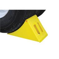 Vestil PLWC-Y Large Yellow Plastic Wheel Chock-2