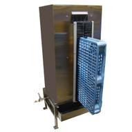 Vestil PPW-748 Pallet Washing Cabinet - Plastic-2