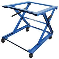 Vestil PS-4045-CK Pallet Stand - Adjustable W Caster Kit-1