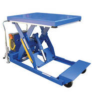 Vestil PST-1-46 Heavy Duty Portable Scissor Lift Table-1