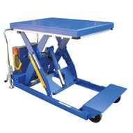 Vestil PST-2448-3-46 Heavy Duty Portable Scissor Lift Table-1