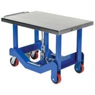 Vestil PT12-40 Low Profile Foot Pumped Post Lift Table-1