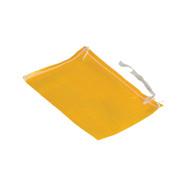Vestil PWB-812-Y Yellow Polypropylene Woven Parts Bag-1