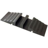 Vestil RHCB-12 Molded Rubber Hose & Cable Bridge-1