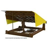 Vestil RR-610-45 Pull Chain Mech Dockleveler 45k 6 X 10 Ft-1
