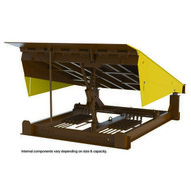 Vestil RR-710-40 Pull Chain Mech Dockleveler 40k 7 X 10 Ft-1
