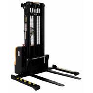 Vestil S-101-AA-DM Stacker Dbl Mast 101 In Adjustable-2