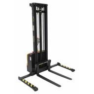 Vestil S-150-AA-DM Stacker Dbl Mast 150 In Adjustable-1