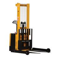 Vestil S-62-AA Adjustable Powered Drive lift Stacker-1