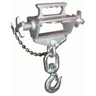 Vestil S-FORK-4 6-SL Hoisting Hook- Sngl W swivel Hook &latch-1