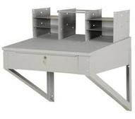 Vestil SHOP-DW Shop Desk Wall Mounted 28 X 24 In Drawer-1