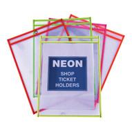 Vestil SHOPT-N Neon Shop Ticket Holders-1