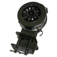 Vestil SIREN-100-BM Siren - Hand Crank- Metal- Bracket Mount-1