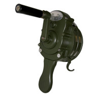 Vestil SIREN-100-GN Siren - Hand Crank - Metal - Army Green-1