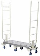 Vestil SNC-1650 Nesting Slim Cart 16 X 50-2