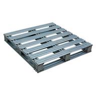 Vestil SPL-3636 Galvanized Finished Steel Pallet-2