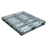 Vestil SPL-4048 Galvanized Finished Steel Pallet-2