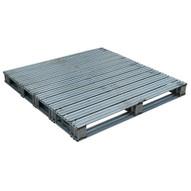 Vestil SPL-4848 Galvanized Finished Steel Pallet-2