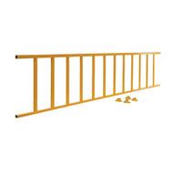 Vestil SPR-120-Y Semi- Permanent Barrier - Yellow Railing-1