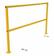Vestil SQ-120-HWR Steel Handrails W Hardware Wo Toeboard-1