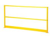 Vestil SQ-48-TB-HWR Steel Handrail W Hardware & Toeboard-5