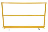 Vestil SQ-84-TB-HWR Steel Handrails W Hardware & Toeboard-1