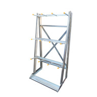 Vestil SR-V Storage Rack- Galv- Vertical Floor Mount-1