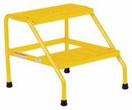 Vestil SSA-2-Y Alum Step Stand - 2 Step Welded Yell-1