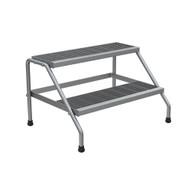 Vestil SSA-2W-KD Aluminum Wide 2-step Stand - Knock Down-2