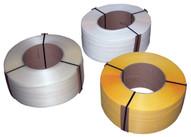 Vestil ST-12-9X8-WH White Polypropylene Strapping-1