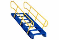 Vestil STAIR-72 Modular Style Stairway Top Step 72-1