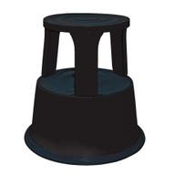 Vestil STEP-17-BK Rolling Step Stool - Black-1